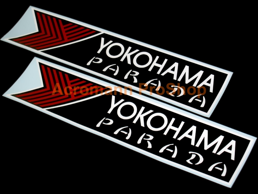 Yokohama Parada 6inch Decal x 2 pcs